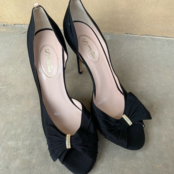 SJP by Sarah Jessica Parker Shoes - SJP Sarah Jessica Parker black heels Sz 40